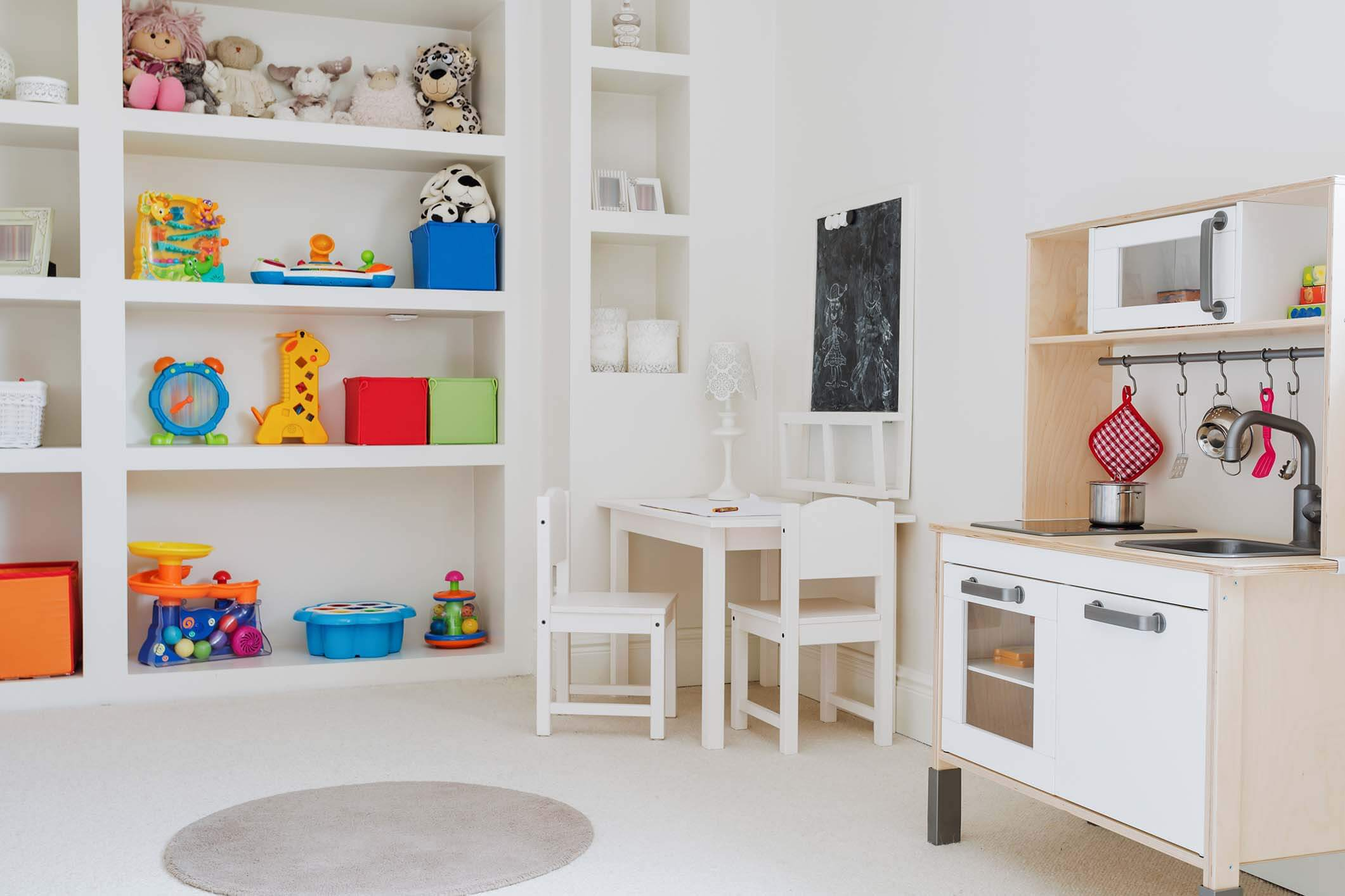 Home Organizer for Play Rooms